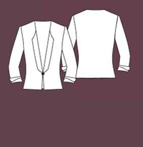 Damen Uniform Jacke Rezeption individuell produziert