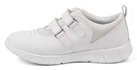 Sneaker ELIS mit Klettverschluss Farbe weiss
