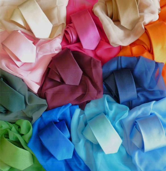 Tuch PES Chiffon ca. 68x68 cm in 19 Farben