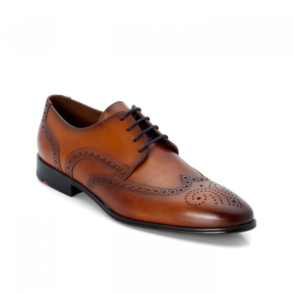 Lloyd Herren Business Derby Schuh schwarz und braun
