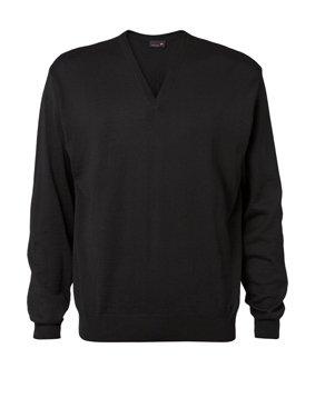 Herren Pullover V-Ausschnitt regular fit 9910/72121