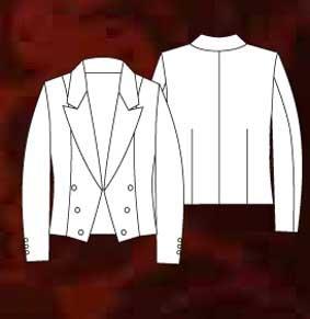 Damen Spencer Jacke individuelle Fertigung