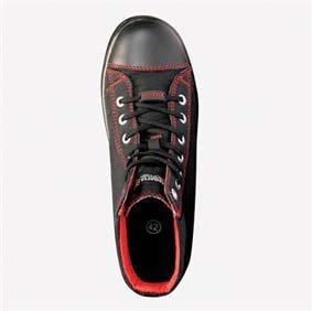 Sicherheits-Stiefel RG654 Playoff S1P black/red