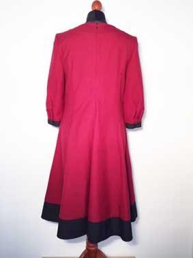 Damen Kleid CURTAIN ROT