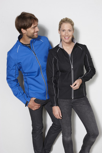 Damen Softshell Jacke und Weste Zipp-Off Jacke mit abzippbaren Ärmeln