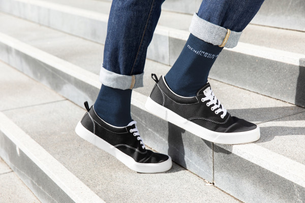 Socken mit hohem BIO-Baumwollanteil