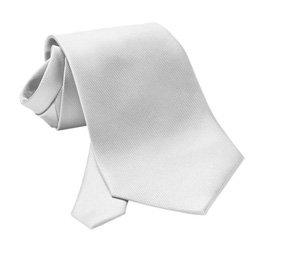 Krawatte Baumwolle/Polyester unifarben