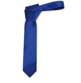 Krawatte Rips Seide Breite ca. 7,5 cm in 17 Farben