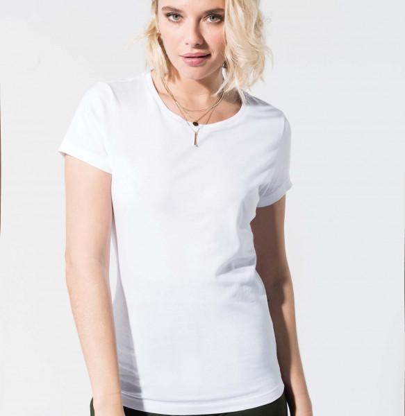 Bio Damen T-Shirt mit Rundhalsausschnitt K391
