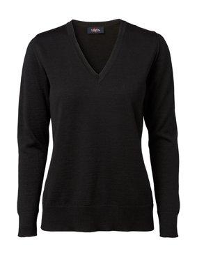 Damen Pullover V-Ausschnitt, slim fit 4180