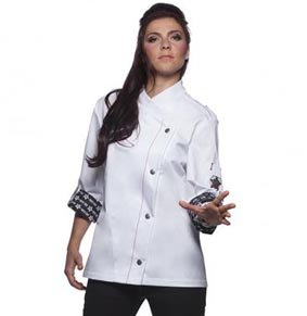 Damen Kochjacke ROCK CHEF® RCJF2