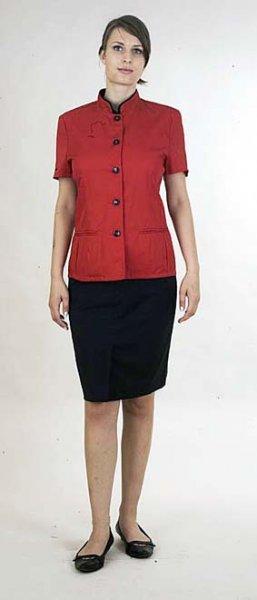 Damen Servicejacke oder Damen Barjacke kurzarm