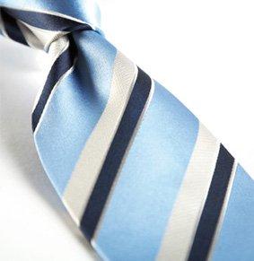 Krawatte LIMONE Jacquard Streifen PES