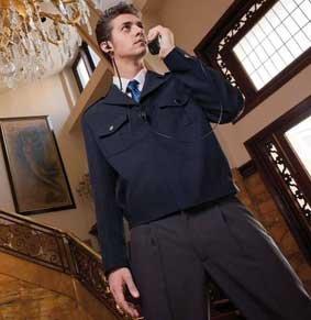 Herren Uniform Jacke SECURITY