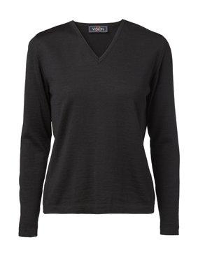 Damen Pullover V-Ausschnitt classic fit 4182