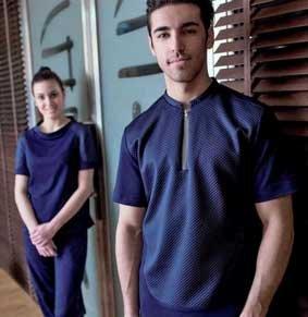 Herren Wellness-Shirt kurzarm mit Zip Natura®