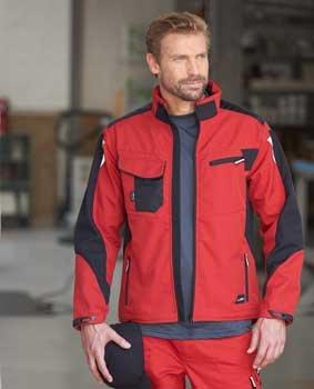 Herren Workwear Softshell Jacke JN844
