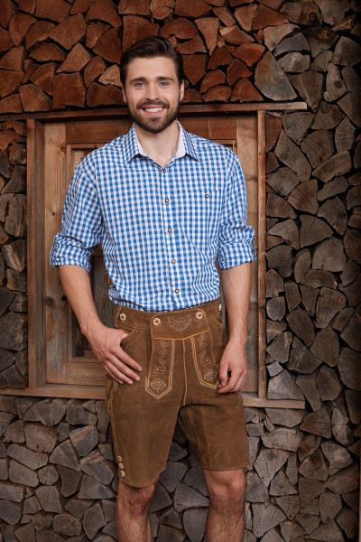 Men's Traditional Shirt im Landhaus Look