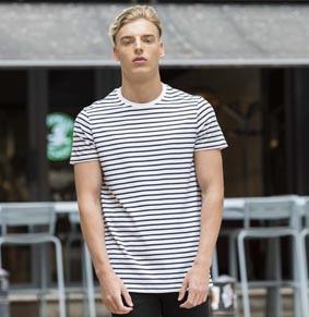 Unisex Streifen T-Shirt