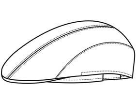 Schieber-Mütze Denimoptik