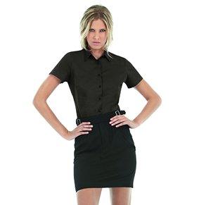 Bluse BLACK TIE Stretch kurzarm 8522 SWP24