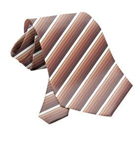 Krawatte PES Brauntöne gestreift