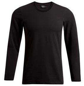 Herren T-Shirt langarm slim fit 8502 4081F