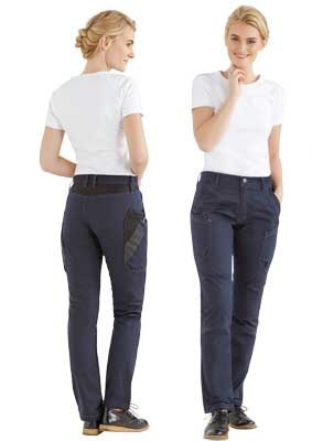 Damen Funktions-Hose Chino Style