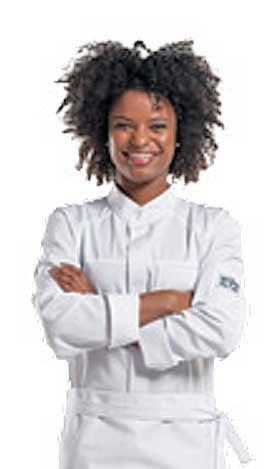 Kochjacke SALERNO weiß
