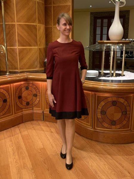 Damen Kleid CURTAIN