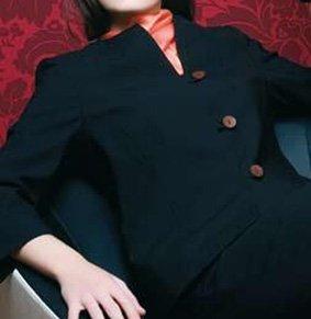 Damen Stehkragenjacke für Rezeption und Service