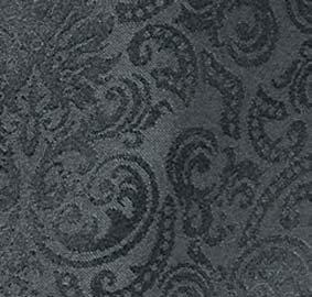 Bistroschürze ORLEANS Damast Schwarz L46 x B72 cm 08664