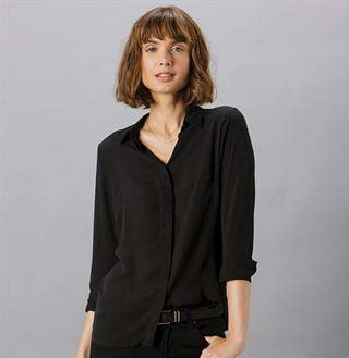 Bluse Soft-Shirt 1/1 Arm