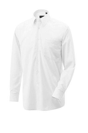 Hemd langarm 100% Baumwolle weiß
