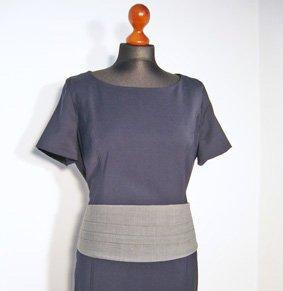 Cummerbund mit Falten für Kleider und Hosen