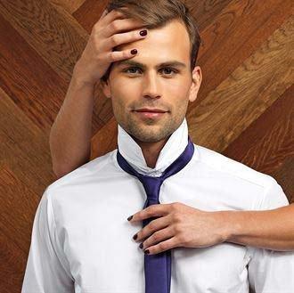 Krawatte PES Satin uni ca. 8,5 cm breit PR750