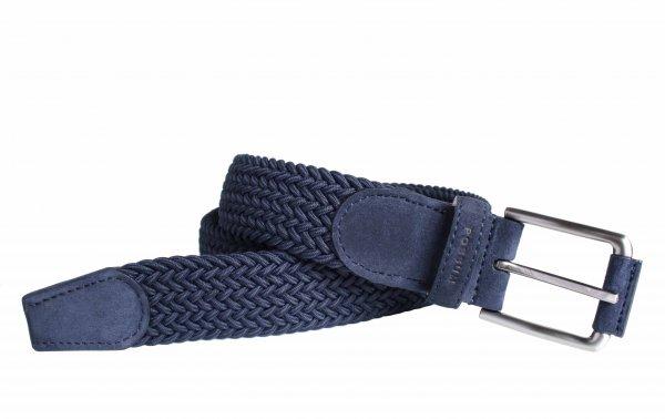 Flechtgürtel elastisch hochwertig aus Leder - farbig