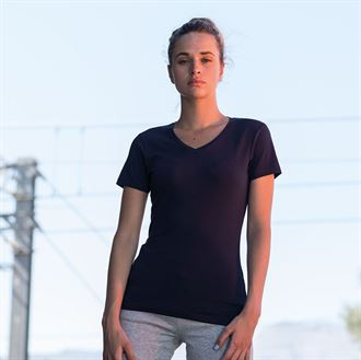 Damen KAFFEE-BAR Stretch T-Shirt kurzarm 8522 SK122