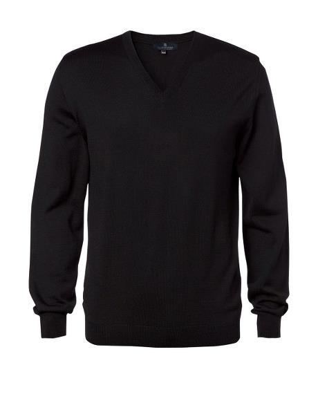 Herren Pullover V-Ausschnitt slim fit 72131