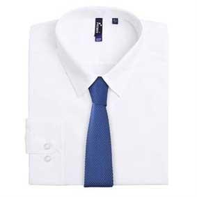 Krawatte Strickoptik uni Breite 5 cm PR789