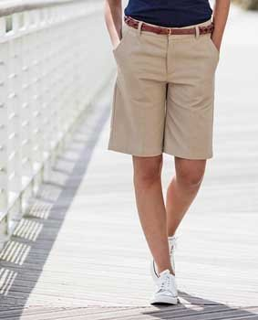 Damen Teflon® coated Chino shorts HB607