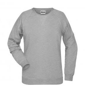 Klassisches Damen BIO Sweatshirt mit Raglanärmeln