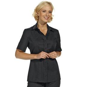 Stretch Bluse kurzarm - 60 Grad Wäsche
