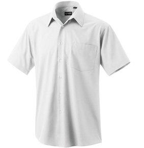 Hemd kurzarm 100% Baumwolle weiß