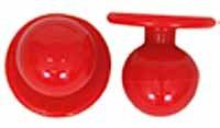 Kugelknöpfe - Kochjackenknöpfe Farbe: rot