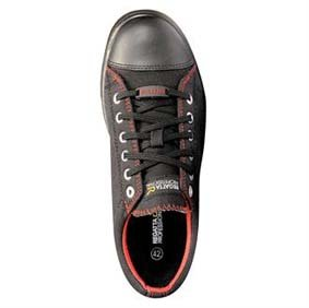 Sicherheits-Sneaker RG650 Playoff S1P black/red