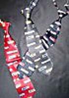 Krawatte - Motiv Busfahrer ca. 4,5 cm breit