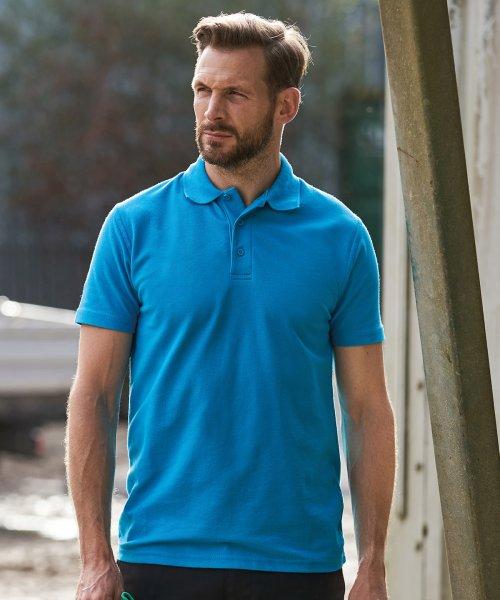 Herren Unisex Workwear Polo PRO kurzarm 60 Grad waschbar