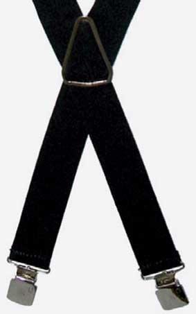 Hosenträger 36 mm breit mit Motiv Edelweiss