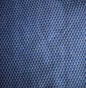 Schal mit Minimal-Allover-Print blau/weiß ca. 180x50 cm 100% BW